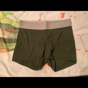 Buffbunny combat shorts in olive green